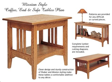 free simple end table plans how to build mission style end table plans free plans