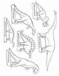 Dinosaur Cut Outs Printables