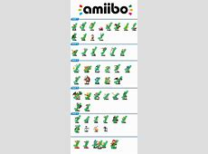 Amiibo checklist Edit wave 5 by Assassannerr on DeviantArt