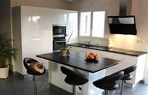 agencement cuisine design en image With agencement cuisine en l