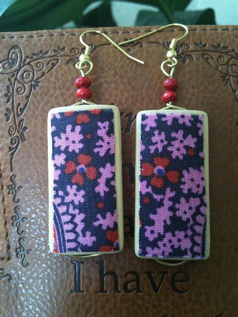 fabric jewelry   scraps
