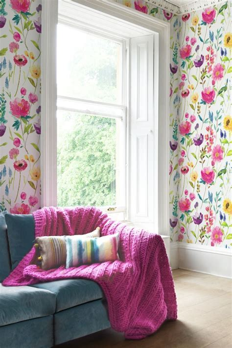Make Home Bloom Floral Wallpaper Ideas by 10 Ways To Add A Floral Flair To Your Home