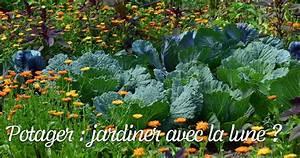 Jardiner Avec La Lune : potager jardiner avec la lune ~ Farleysfitness.com Idées de Décoration