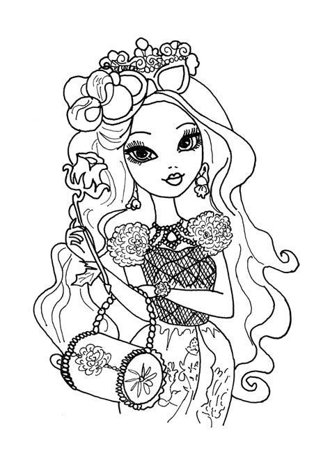 Coloring Top by After High Coloring Pages To And Print For Free