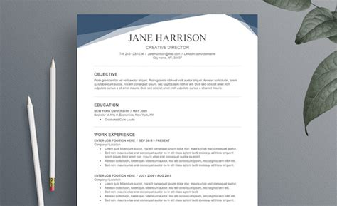 Free Resume Templates Word by 25 Free Resume Templates For Microsoft Word That Don T
