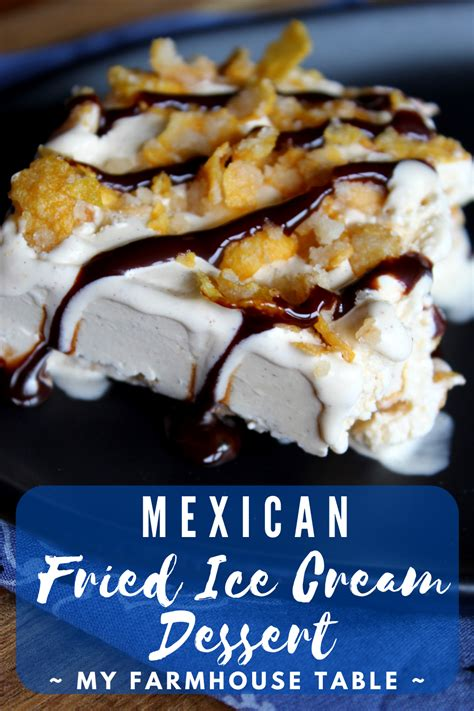 49 mexican christmas cakes ranked in order of popularity and relevancy. Mexican Fried Ice Cream Dessert - My Farmhouse Table
