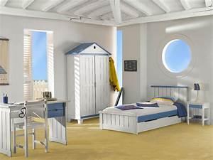 Decoration Chambre Style Marin : armoire chambre style marin ~ Zukunftsfamilie.com Idées de Décoration