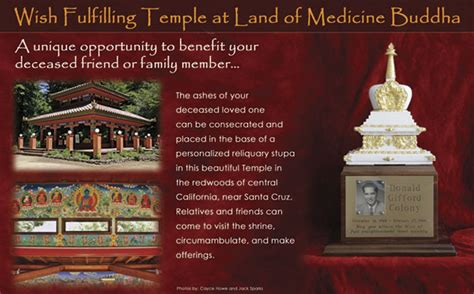 memory ls for deceased land of medicine buddha services