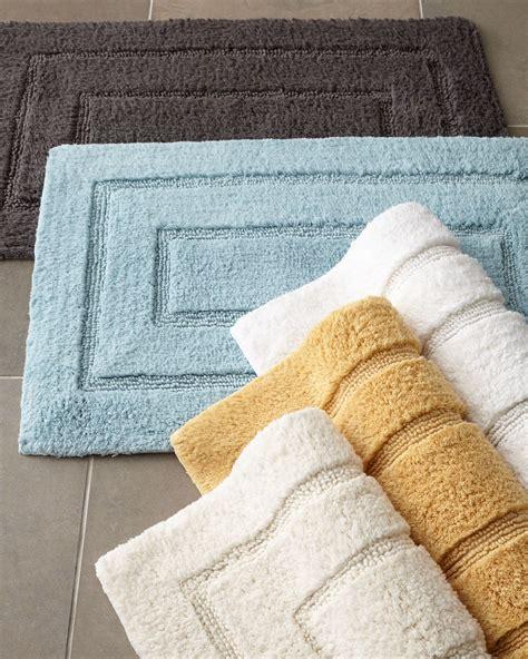 Modern Bathroom Rugs And Towels by Kassatex Tufted Cotton Bath Rug 20 X 32 Bathroom
