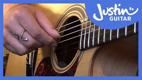 Folk Fingerstyle Patterns #1of2 (folk Guitar Lesson Fo101