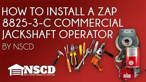 How To Install A Zap 8825