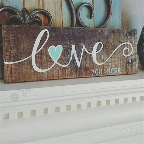 love wood sign ideas  designs