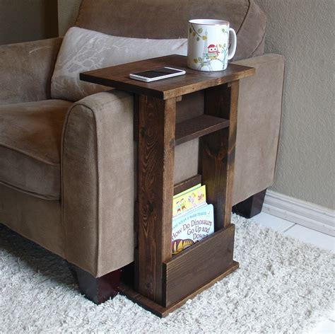 sofa chair arm rest table stand ii  shelf   keodecor