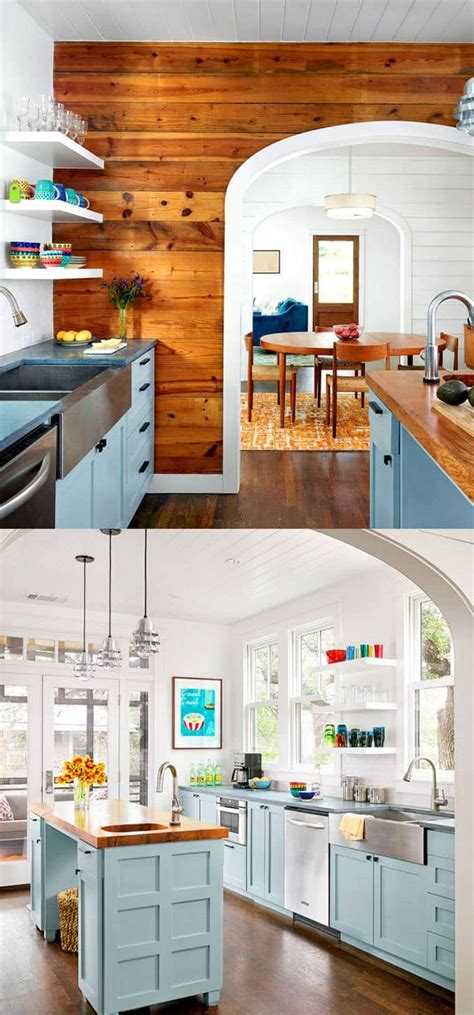 blue kitchen cabinets paint colors 25 gorgeous kitchen cabinet colors paint color combos