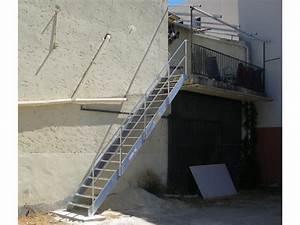 Escalier Métallique Industriel : escalier droit industriel contact echelles plus ~ Melissatoandfro.com Idées de Décoration