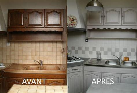 home staging cuisine chene davaus peindre cuisine chene en blanc avec des