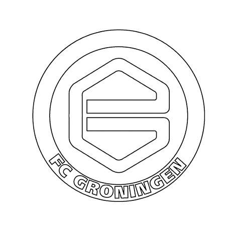 Kleurplaat Logo by Leuk Voor Logo Fc Groningen