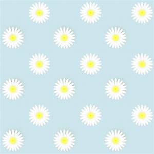 Free digital daisy flower scrapbooking papers ...