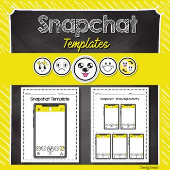 Snapchat Template Snapchat Template Editable With Powerpoint By Cheeky