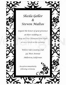 Celebrity Fashion Fame  Wedding Invitation Clip Art Borders Free