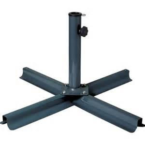 corliving grey patio umbrella stand walmart com