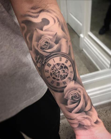 healed shot  louiss forearm tattoos good job