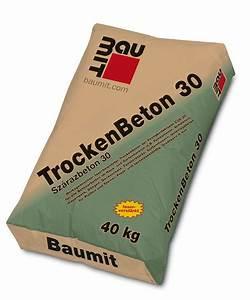 Spachtelmasse Für Aussen : baumit trockenbeton 30 auf dem nr1 online baumarkt ~ Orissabook.com Haus und Dekorationen