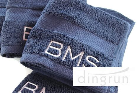 Luxury Embroidery Monogrammed Hand Towels,hand Towels