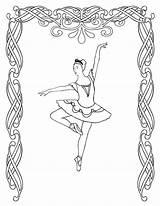 Coloring Ballet Printable Kolorowanki Balet Dzieci Dla Bestcoloringpagesforkids sketch template