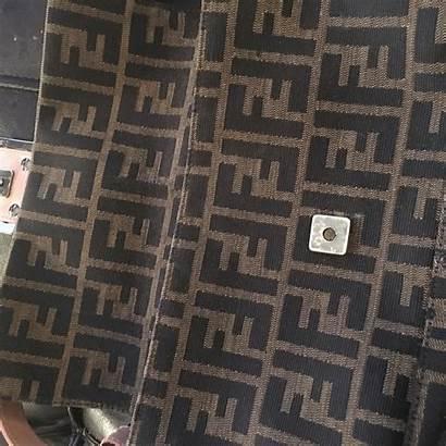 Fendi Pattern Brown Patterns Bag Dog Wallpapers