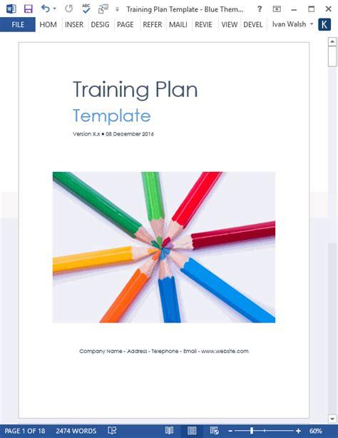 training plan templates  software templates