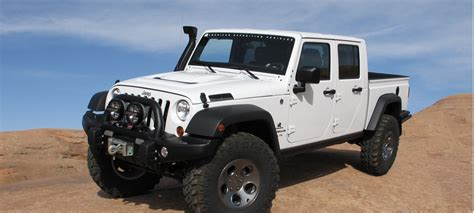 jeep wrangler pickup truck price release date unlimited   jeep