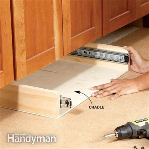 how to build kitchen cabinet drawers how to build under cabinet drawers increase kitchen