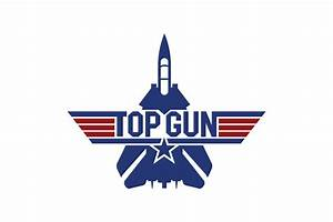 Top Gun Logo - logo cdr vector