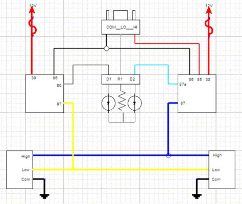 Headlight Wiring Following Crawlers Diagram Question