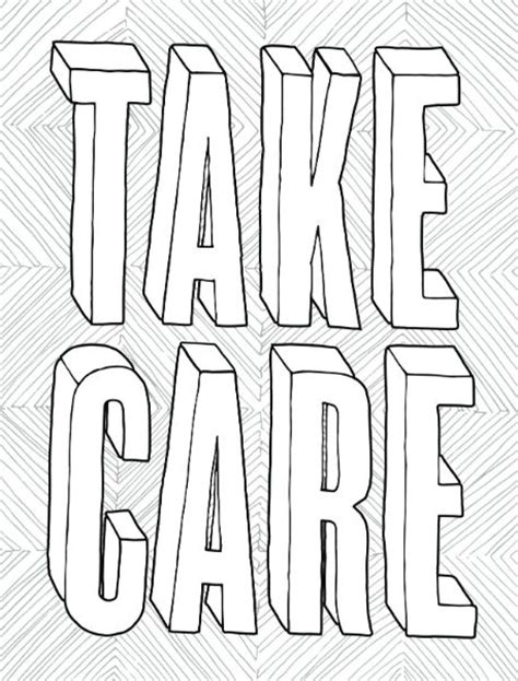 Coloring Books For by Take Care A Free Coloring Page From You Got This A