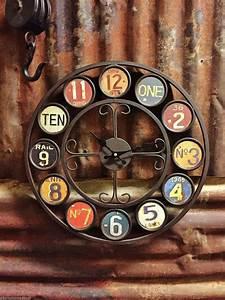 22, Industrial, Wall, Clock, Designs, Ideas