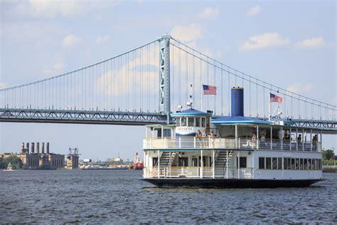 Old Boat In Philadelphia by Riverlink Ferry