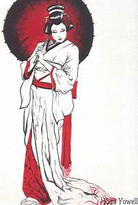 Geisha I by Kyowell on DeviantArt