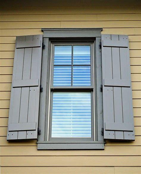 board  battern shutters