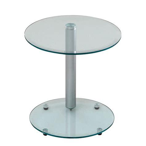 beistelltisch glas rund bellinzona beistelltisch f 252 r ein modernes zuhause home24