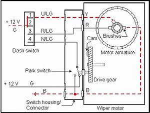92-95 Wiper Motor Self Parking Switch