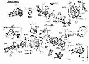 Toyota Cressida Differential Pinion Seal  Front  Rear