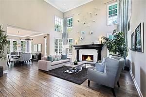 Foto Wohnzimmer Innenarchitektur Sofa Sessel Teppich Design