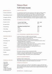 Student Resume Builder Free Student Entry Level Call Centre Resume Template