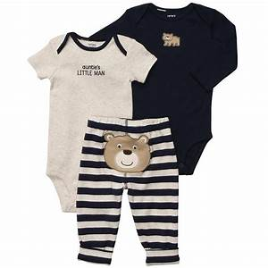 Carter's Boys 3 Piece Turn Me Around Set with Long Sleeve ...