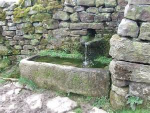 Stone Water Feature Trough