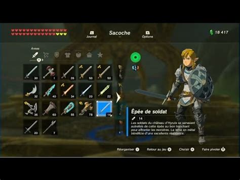 The Legend Of Zelda Botw  Emplacement Des Armes Gerudo