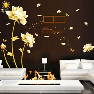 Aliexpress buy removable golden homecoming flowers