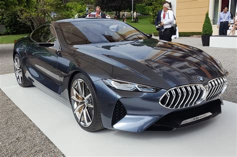 BMW Car : It's Back! Bmw Concept 8-series Previews New Plush Coupe